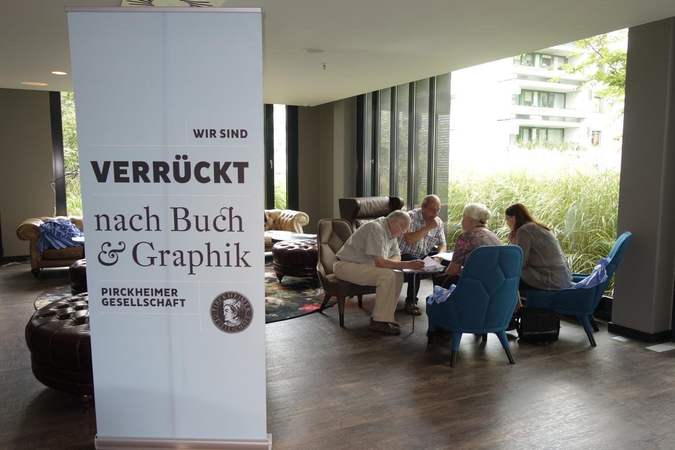 Rollup der Pirckheimer-Gesellschaft