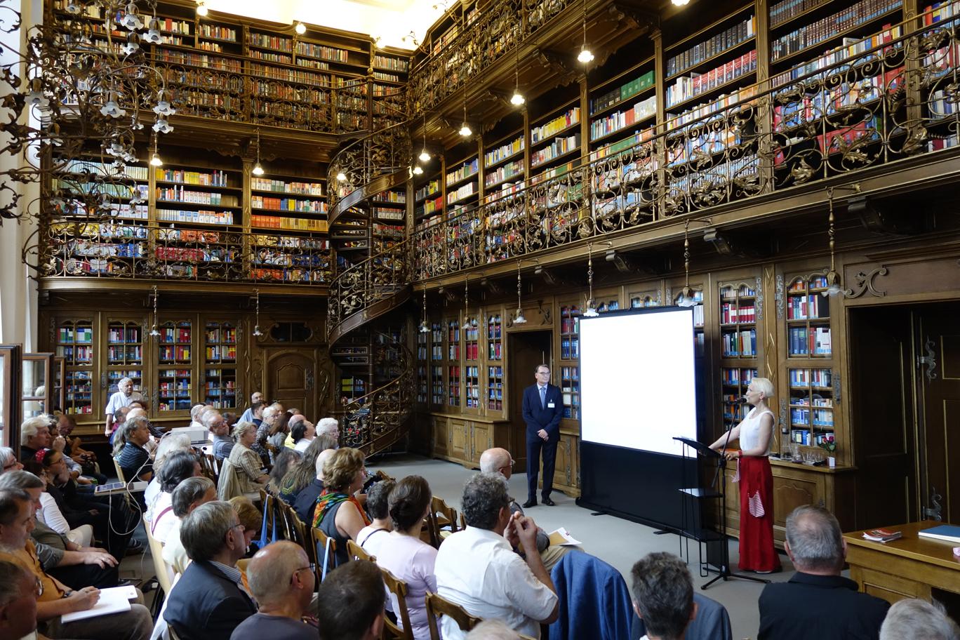 Mitgliederversammlung in der Juristischen Bibliothek