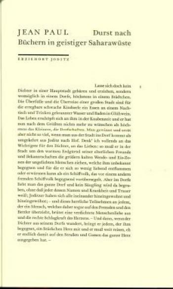Typografische Beilage Marginalien 181