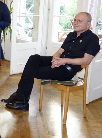 Dr. Wolfram Benda zu Gast bei den Magdeburger Pirckheimern.
