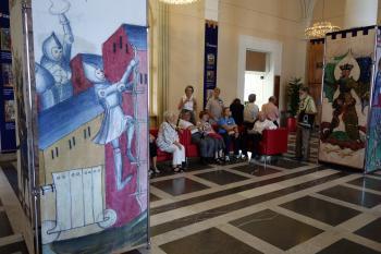 """Ausstellung """"Bilderwelten - Buchmalerei zwischen Mittelalter und Neuzeit"""" in der Bayerischen Staatsbibliothek"""