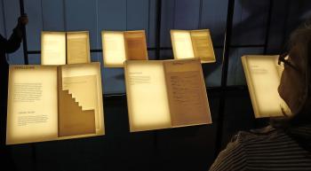 Blick in die Dauerausstellung des Kleist-Museums. | © R. Wege