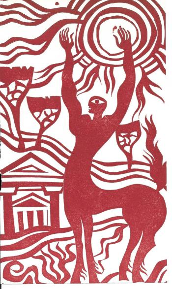 Eine Illustration von Fritz Möser