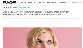 Svenja von Döhlen   Screenshot page-online.de