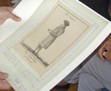 Bildnis des Georg Dippe Hofmann (1821), Porträtgrafiksammlung des Gleimhauses | © R. Wege